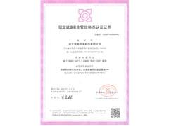 职业健康安全管理体系认证_工业洗涤剂厂